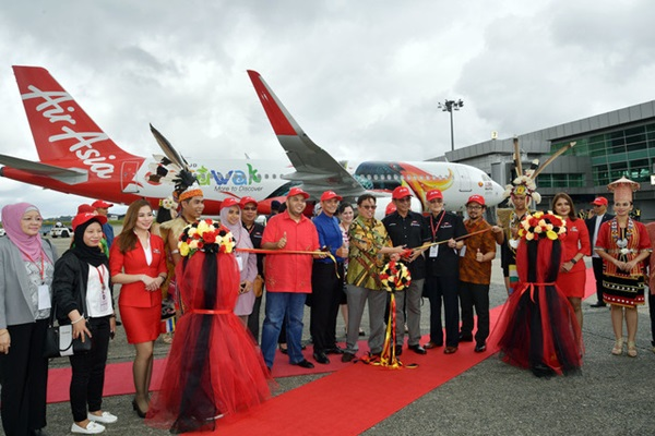 AirAsia visit Sarawak Livery launched