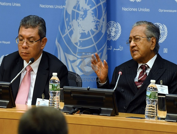 Image result for Mahathir at the UNGA