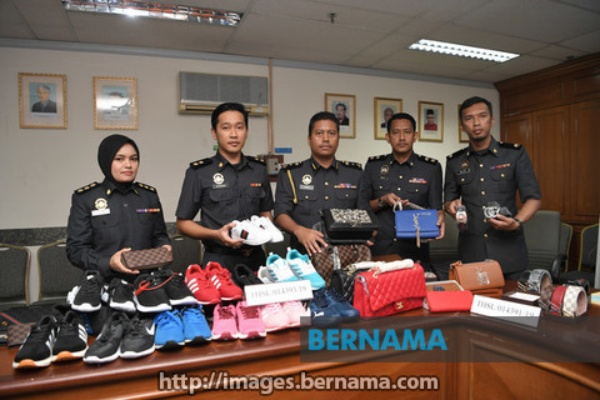 BERNAMA com - KPDNHEP seizes counterfeit goods worth over