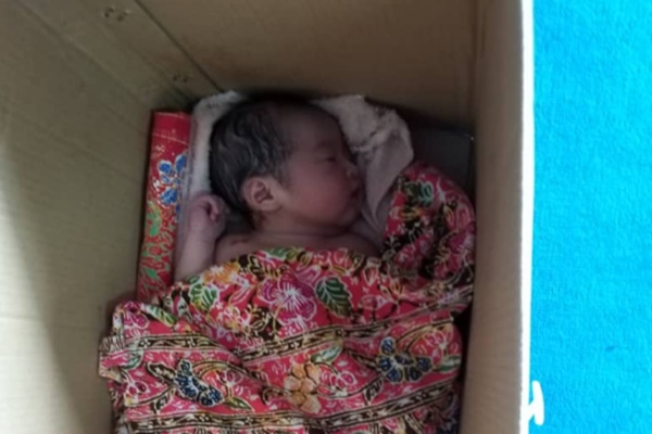 Baby girl found abandoned at mosque