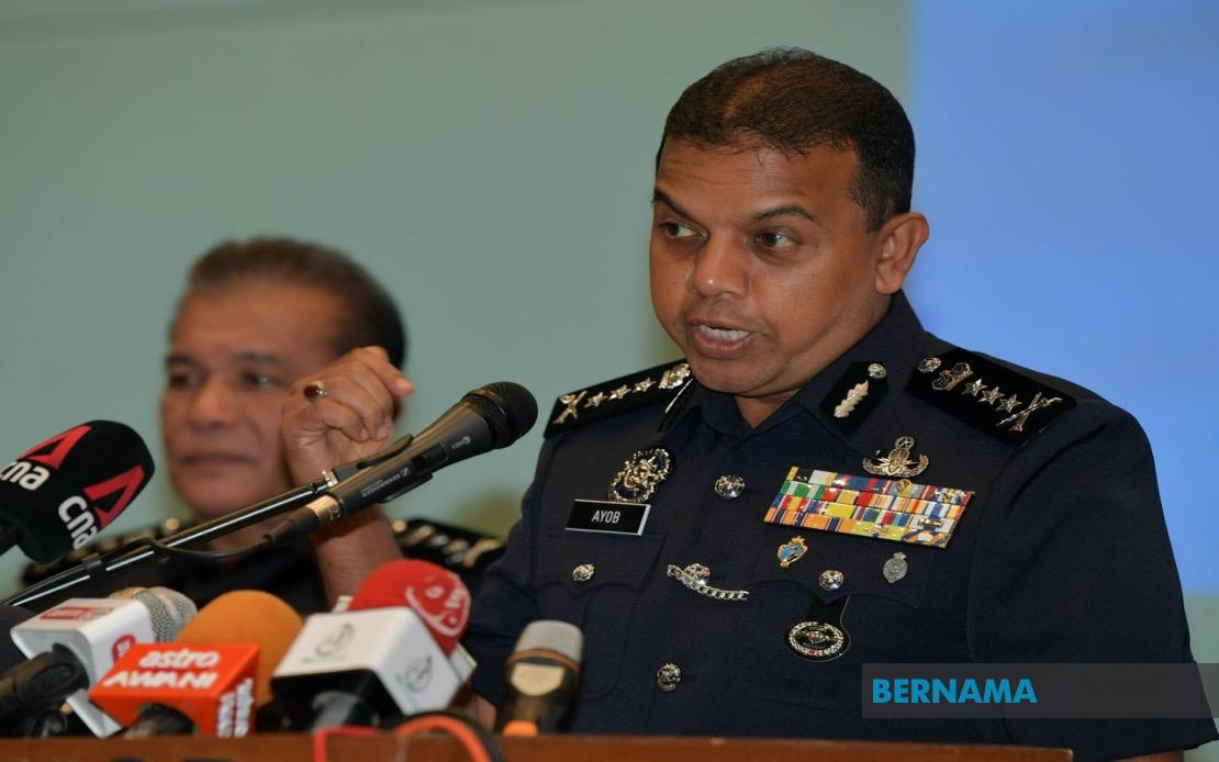 Datuk Ayob Khan Mydin Pitchay, Ketua Polis Johor