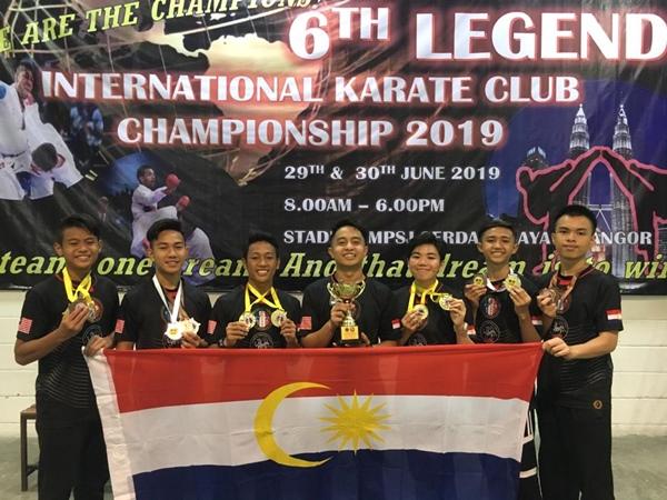 BERNAMA com - Labuan emerge 1st runners up in 6th Legend