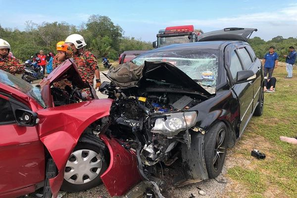 BERNAMA com - Fatal accident after visiting sick relative