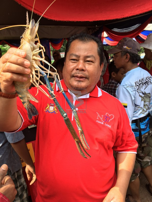 BERNAMA com - Monsoon Brings Giant Prawn Bounty